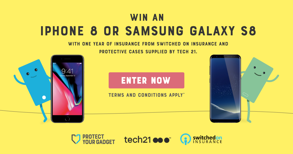 online store a20fe 1faaa Competition time! Win an iPhone 8 or Samsung Galaxy S8 + insurance ...